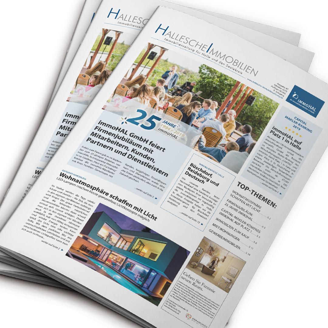 Hallesche Immobilienzeitung Ausgabe Oktober 2019