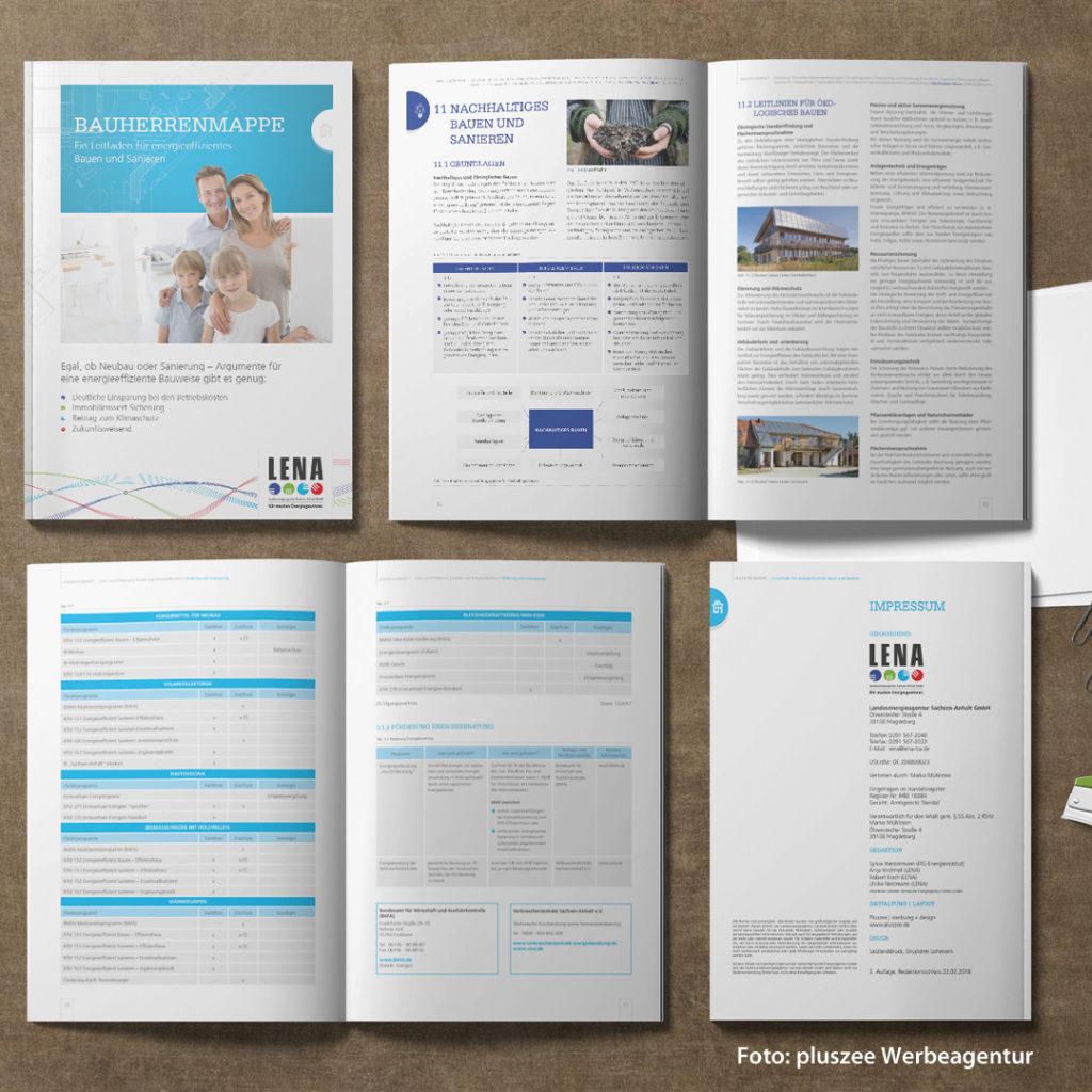 Die Bauherrenmappe enthält wichtige Informationen und Hinweise zu Technologien rund ums Thema Energieeinsparung sowie nachhaltige Energieversorgung von Wohngebäuden für private Verbraucher und Bauherren.