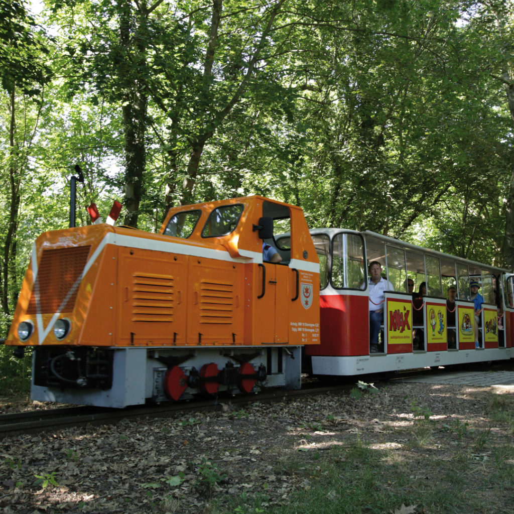 "Die Kindereisenbahn ""Peißnitz-Express"""