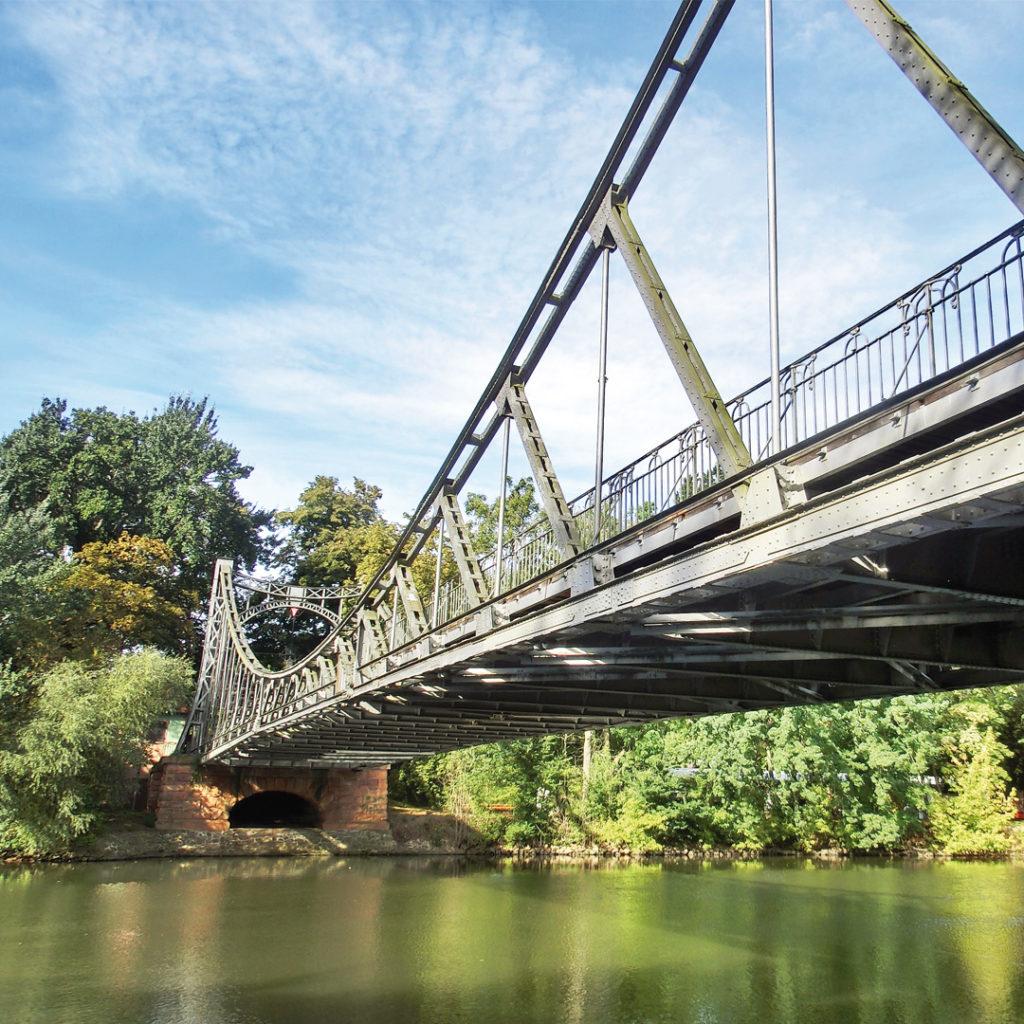 Peißnitzbrücke in Halle