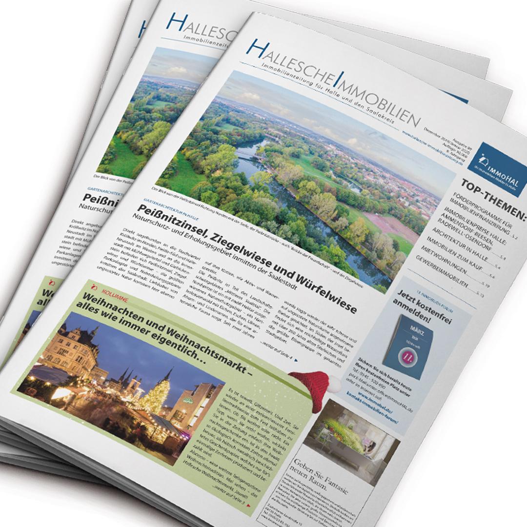 Hallesche-Immobilienzeitung, Ausgabe Dezember 2019