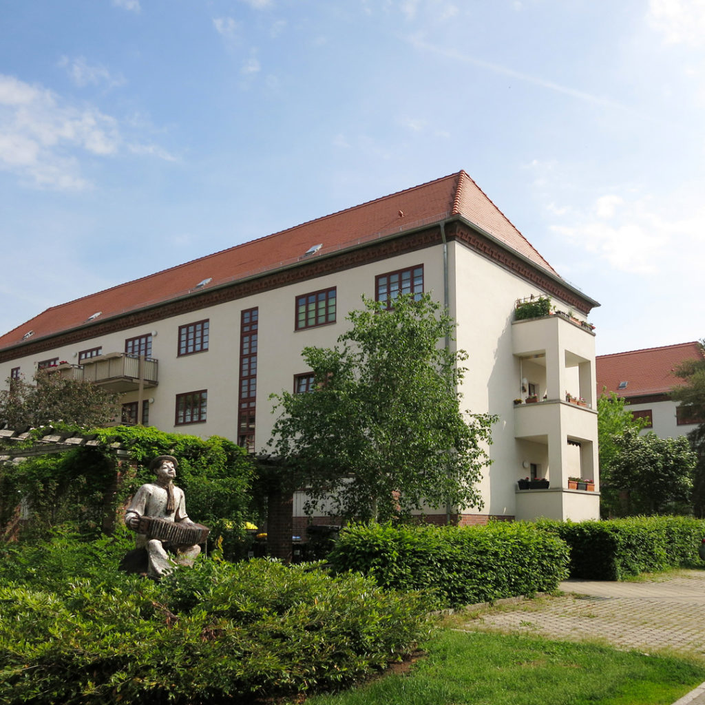 Der Reilshof mit seinen damals 205 Wohnungen ist ein typisches Beispiel für den Siedlungswohnungsbau der 1930er Jahre.