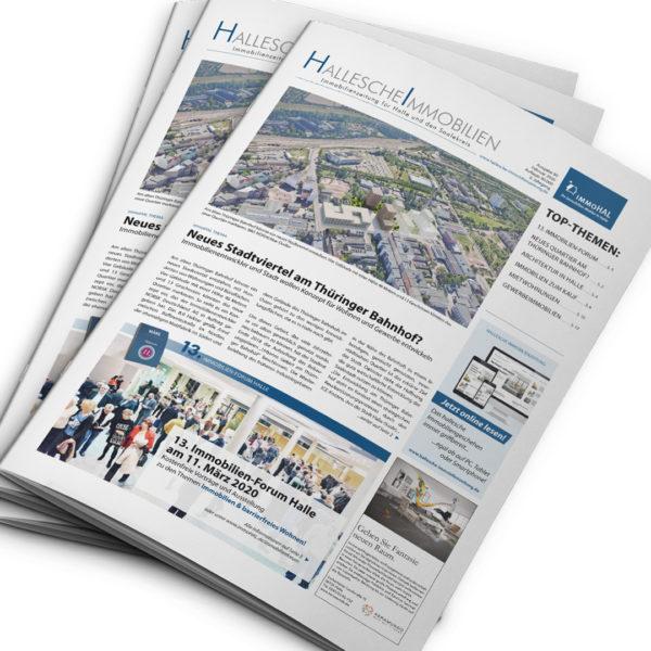 Hallesche Immobilienzeitung, Ausgabe Februar 2020