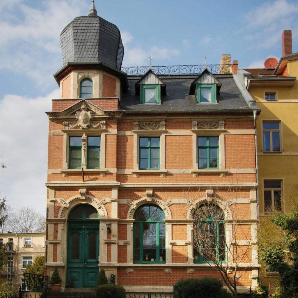 Verbindungshaus am Jägerplatz 20
