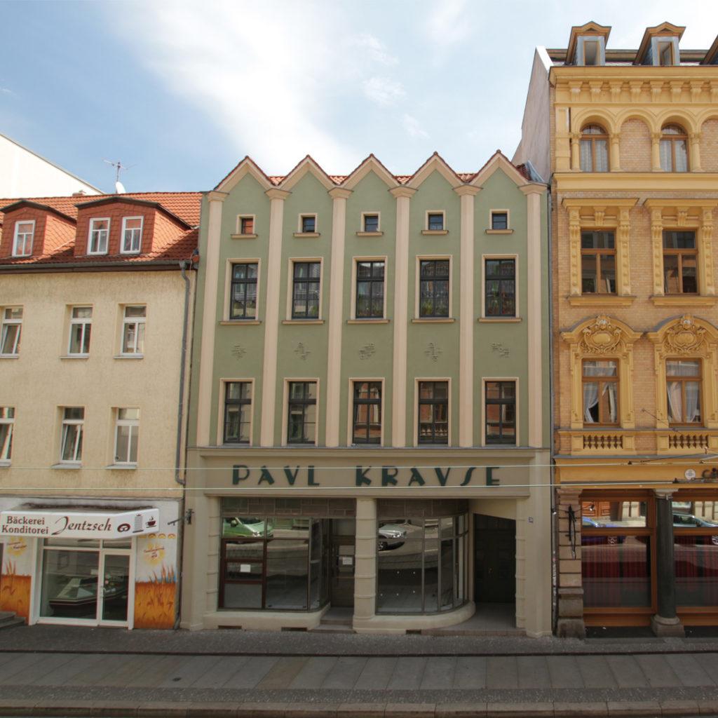 Der Architekt Richard Schmieder gehörte zu jenen lokalen Architekten, die den Wandel von der Gründerzeit hin zur Klassischen Moderne in der Saalestadt in den 1920er Jahren geprägt haben.