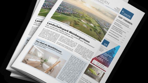 Hallesche Immobilien Zeitung, Ausgabe Mai