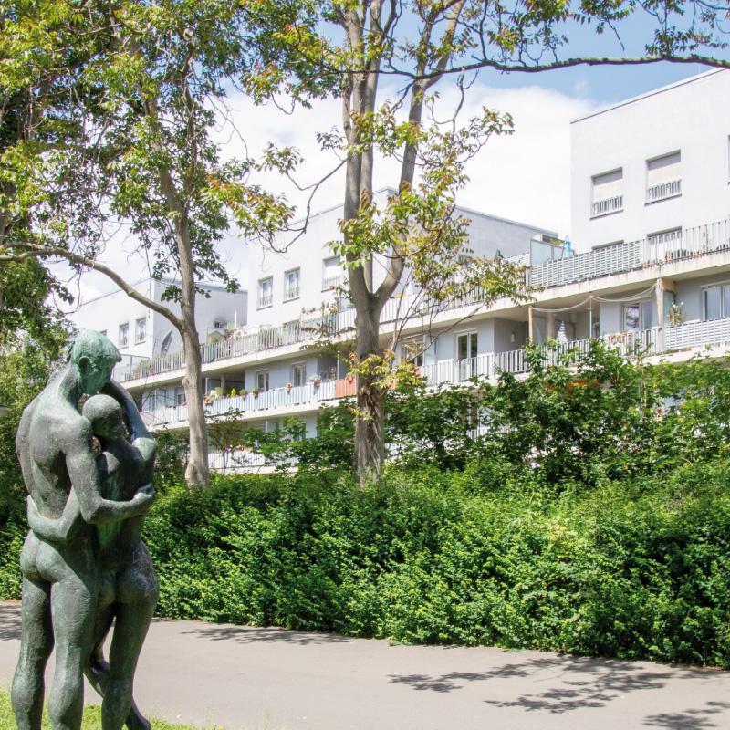 Die Modernisierung der GWG-Häuser am Oleanderweg wurden bereits 2011 ausgezeichnet
