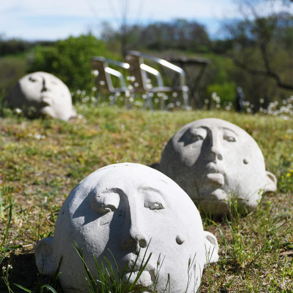 Der Garten wird zum Skulpturenpark