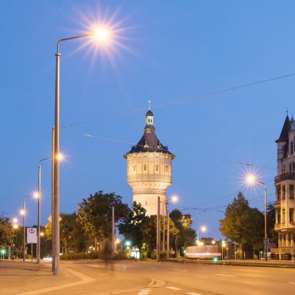 Der Wasserturm Nord am Roßplatz