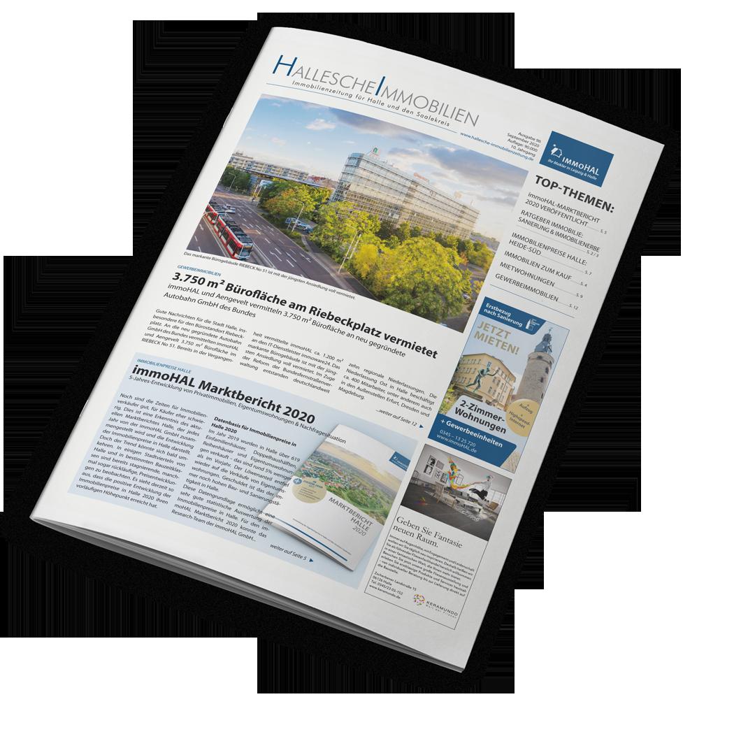 Hallesche Immobilienzeitung, Ausgabe September 2020