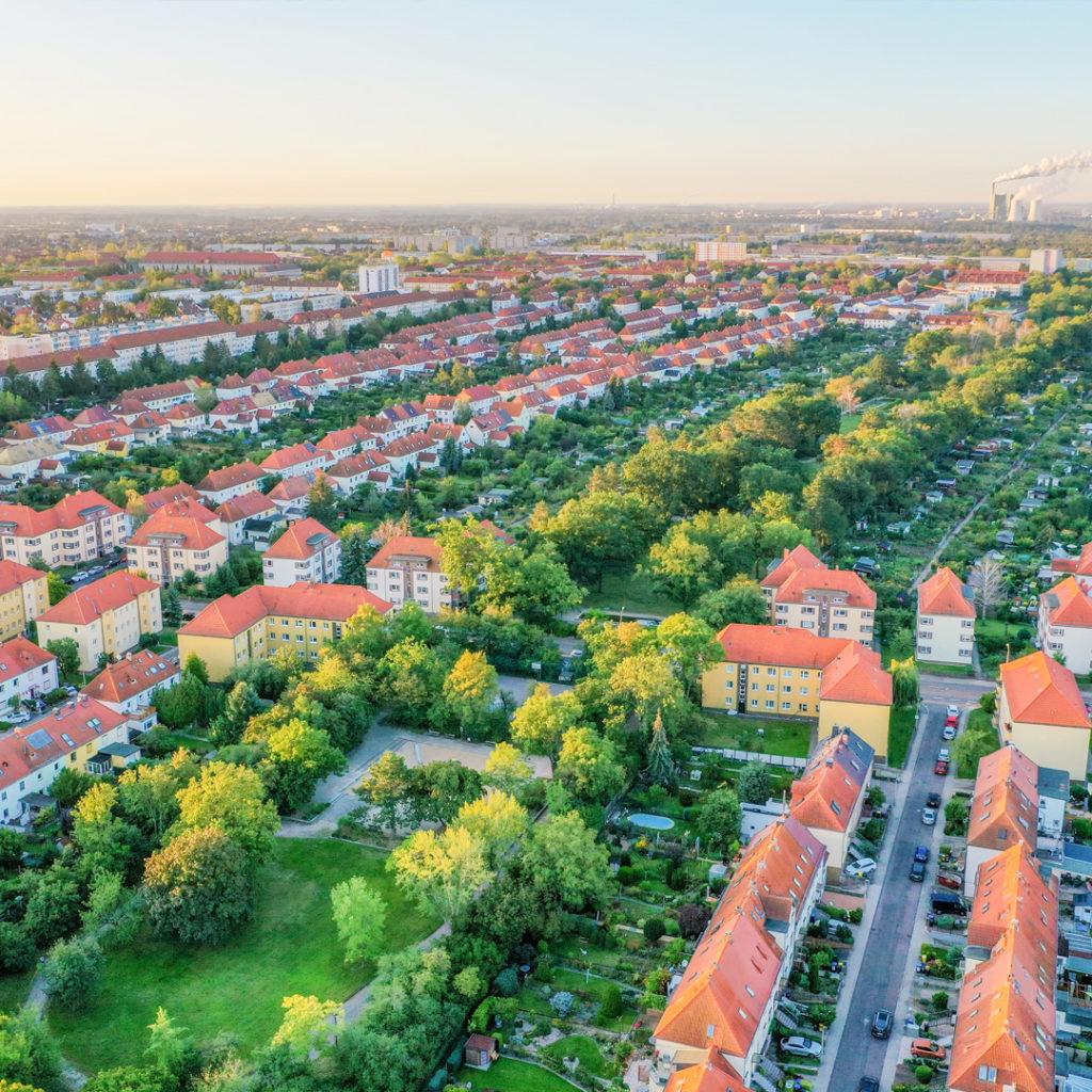 Der Pestalozzipark in Halle das grüne Herz der Gartenstadt Gesundbrunnen