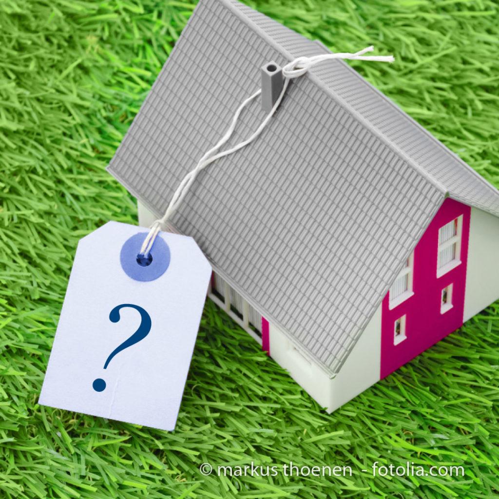Wieviel ist meine Immobilie wert?