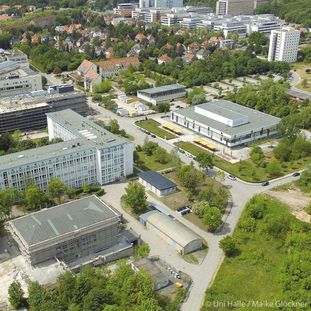 Im Rahmen des Strukturwandels sind auch Erweiterungen am Weinberg Campus (u.a. Biomedizin und Bioökonomie) geplant.