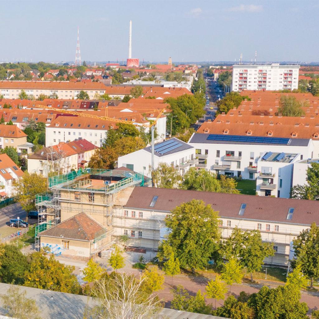 """Sanierungsprojekt """"Alte Schule"""" der GWG """"Eigene Scholle"""" eG"""