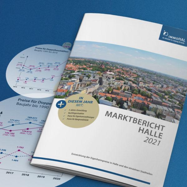 immoHAL GmbH veröffentlicht Immobilienpreise Halle im Marktbericht 2021